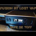 Efusion על ידי Lost Vape [VapeMotion]