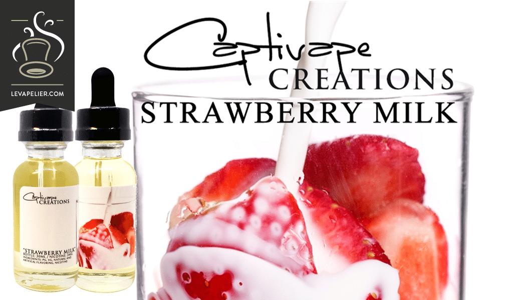 Strawberry Milk by Captivape