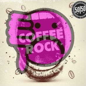 koffie-rock smiley-