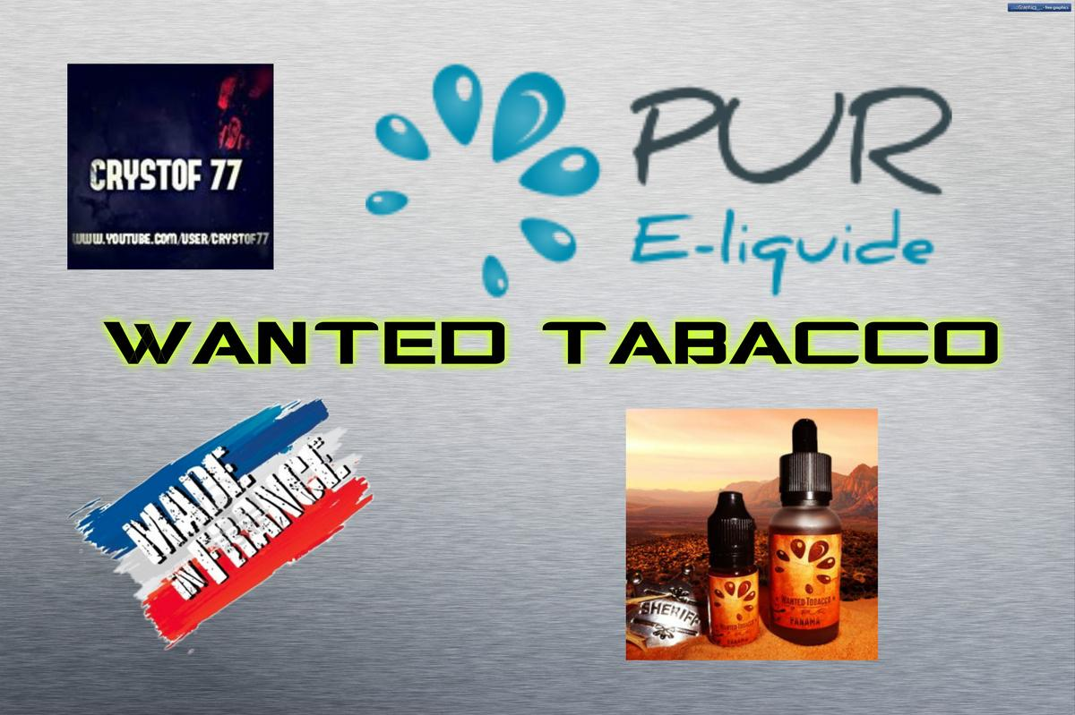 Wanted Tobacco Range van Pur E-liquid [VapeMotion]