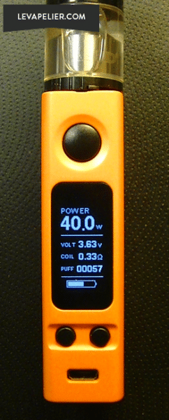eVic VTwo 75W Fonctions