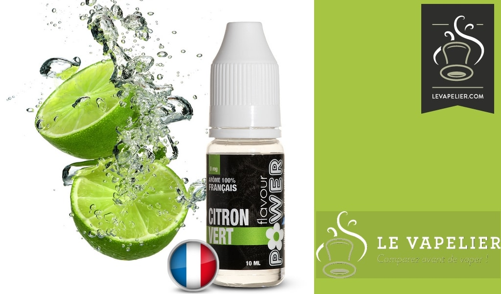 LEMON GREEN (Les FRUITES-reeks) van FLAVOUR POWER