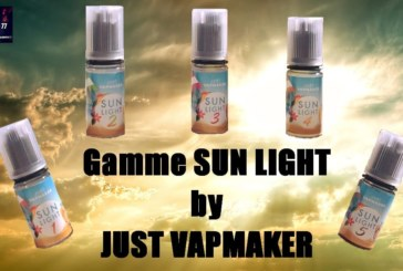 "Geconcentreerd ""Sun Light"" van Just VapMaker [VapeMotion]"