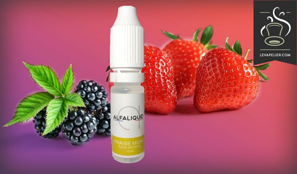 Ripe Strawberry by Alfaliquid