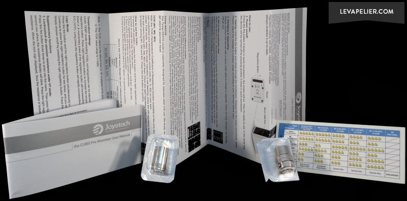 Joyetech Evic Basic Manuals