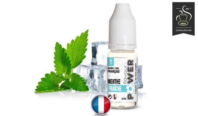 Fresh Mint (gama 50 / 50) por Flavor Power