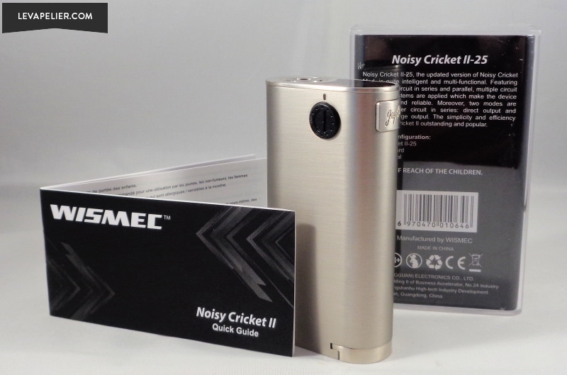 wismec-noisy-cricket-ii-25-pack
