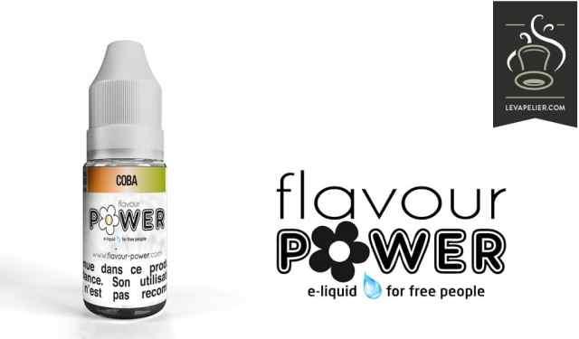 Coba (Gamme 50/50) par Flavour Power