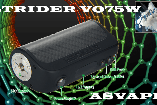 STRIDER VO75 door ASVAPE