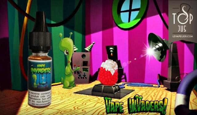 Vape Invaders (gamme premium) par Bordo2