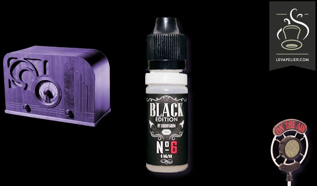 N°6 (Gamme Black Edition) par Liquidarom