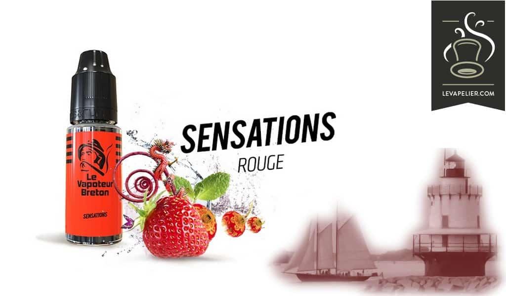 Rouge ( Gamme Sensations ) par Le Vapoteur Breton