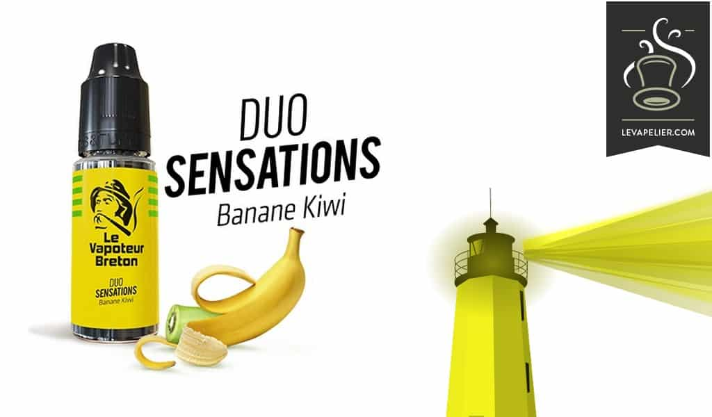 Kiwi Banana (Duo Sensations Range) by Le Vapoteur Breton