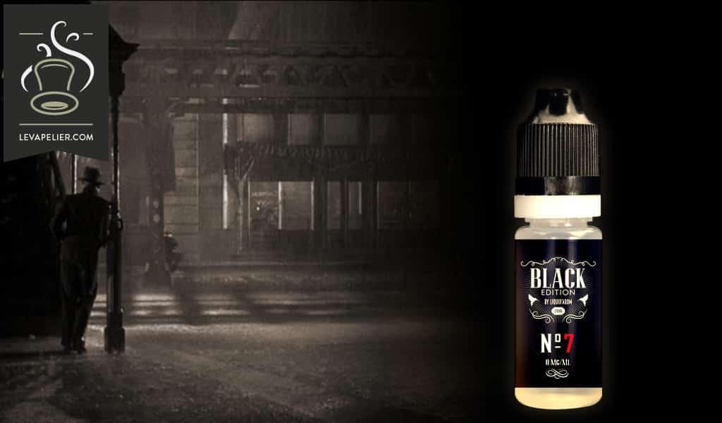 N°7 (Gamme Black Edition) par Liquidarom