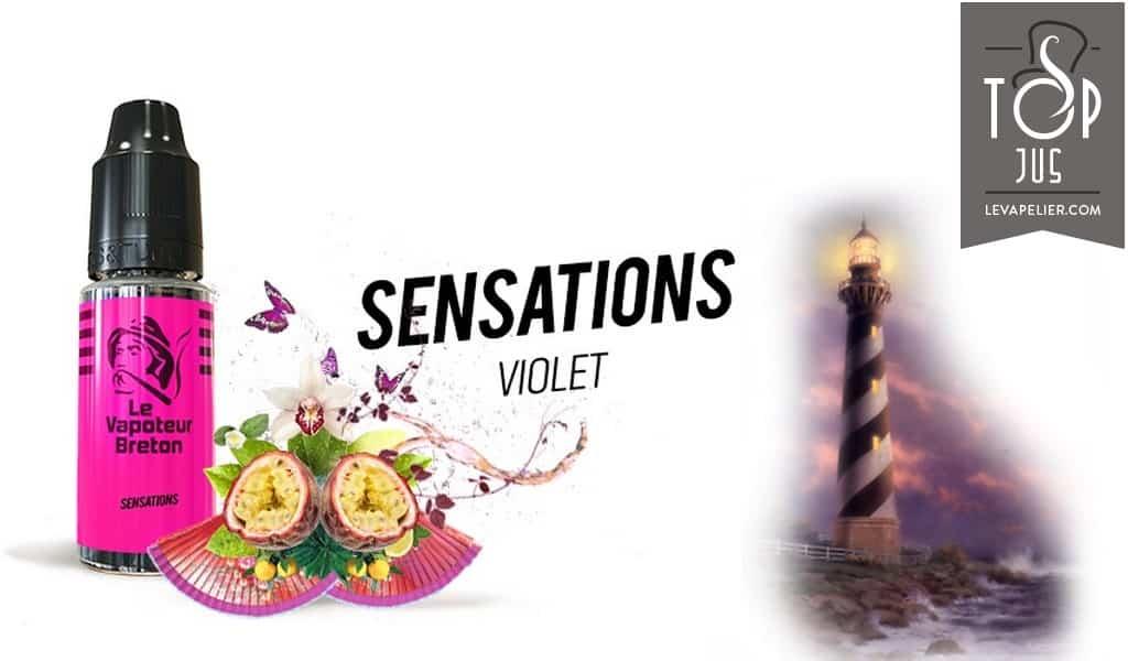 Violet (Gamme Sensations) par Le Vapoteur Breton