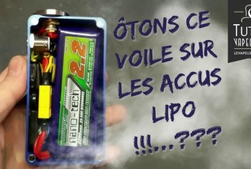 Baterías LiPo bajo el microscopio