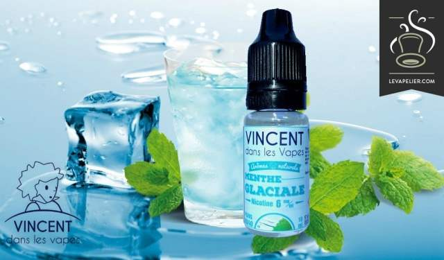 Menthe glaciale (gamme classique) par Vincent dans les Vapes