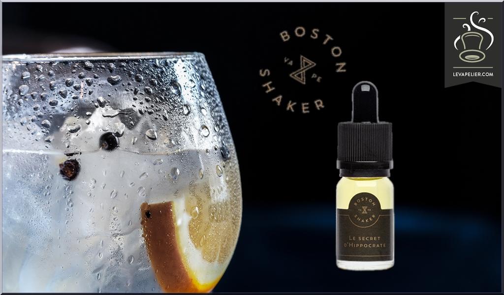Le Secret d'Hippocrate (gamme Short Juices) par Boston Shaker Vape