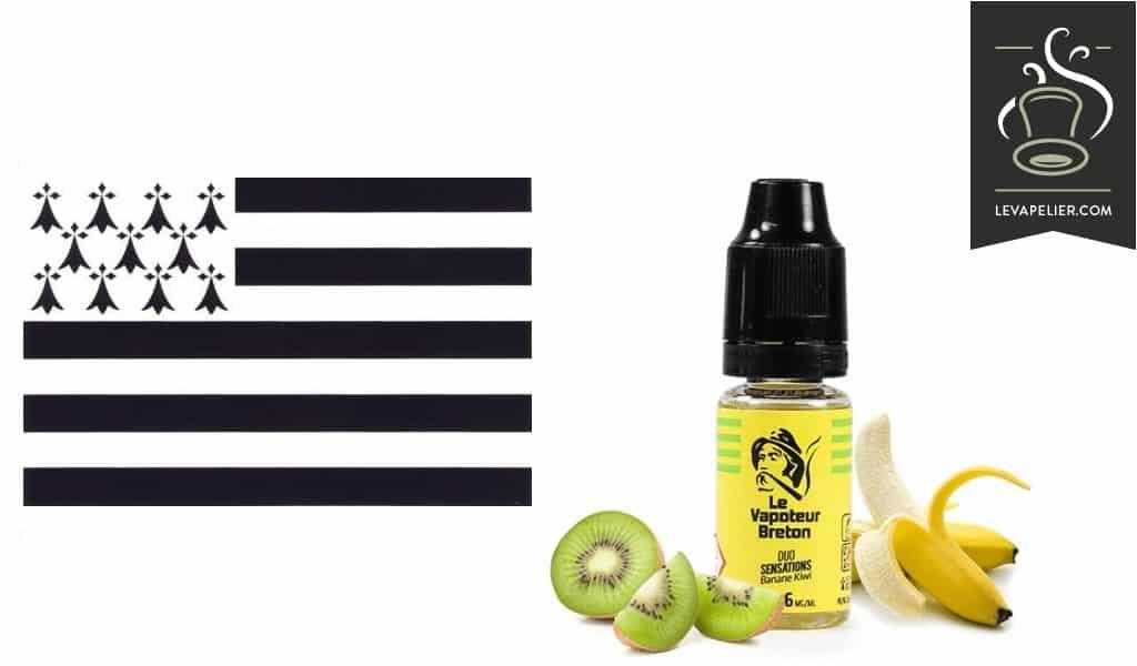 Banana-Kiwi (Duo Sensations Range) door Le Vapoteur Breton