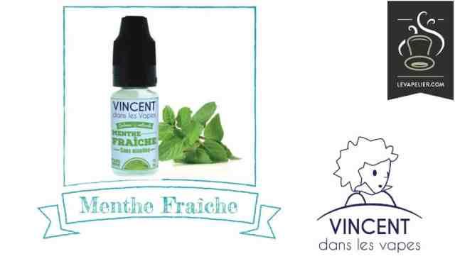 Menthe Fraîche (Gamme Les Incontournables Gourmands) par Vincent Dans Les Vapes