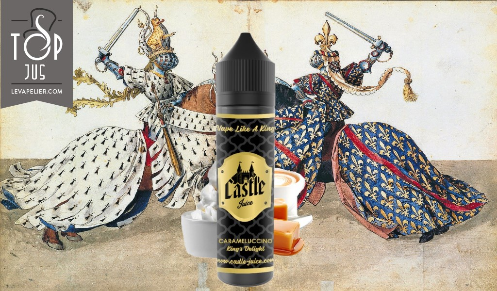 Carameluccino (Gamme King's Delight) par Castle Juice