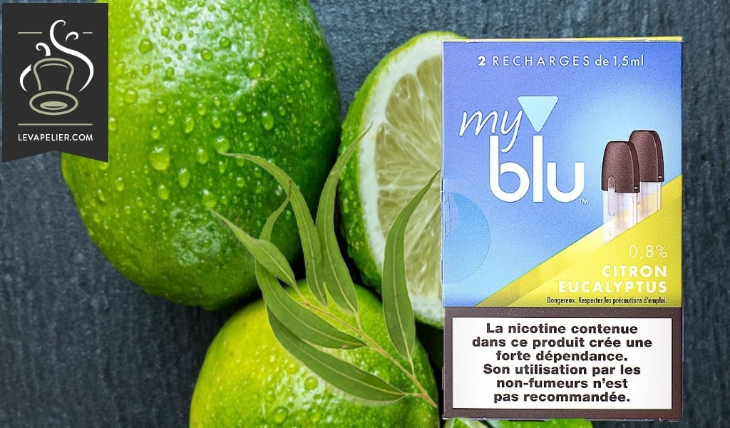 Citron Eucalyptus (Gamme myblu) par blu