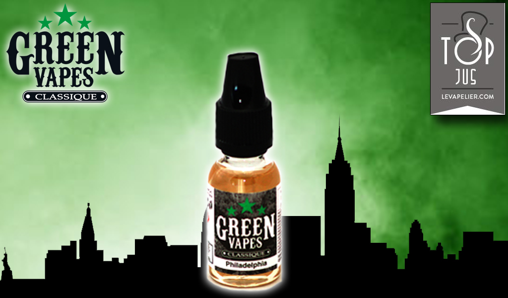 Philadelphia (Gamme Classique) par Green Liquides