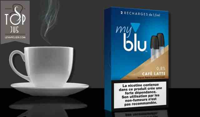 拿铁咖啡(myblu范围)由blu