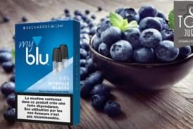 Myrtille glacée (gamme myblu) par blu