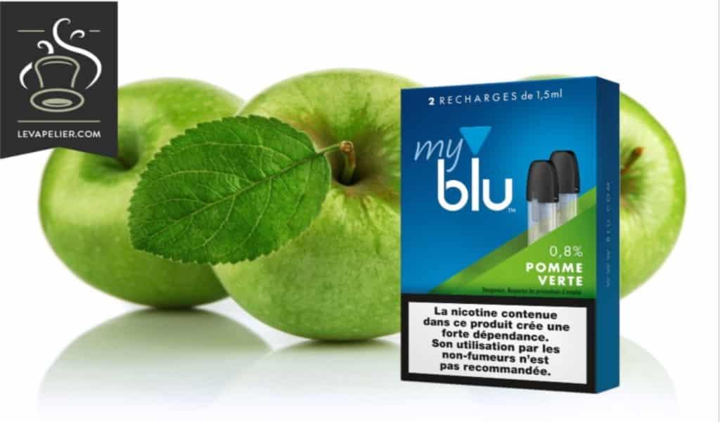 Pomme verte (gamme myblu) par blu