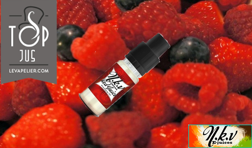Red Juice (NKV Colors Range) by NKV E-juices