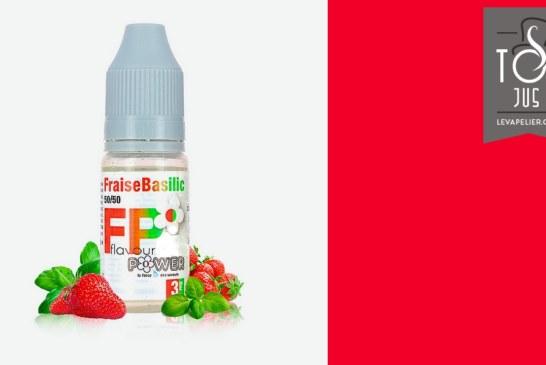 Basil Strawberry (50 / 50-reeks) van Flavour Power