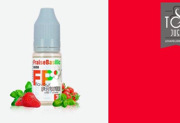 Fraise Basilic (Gamme 50/50) par Flavour Power