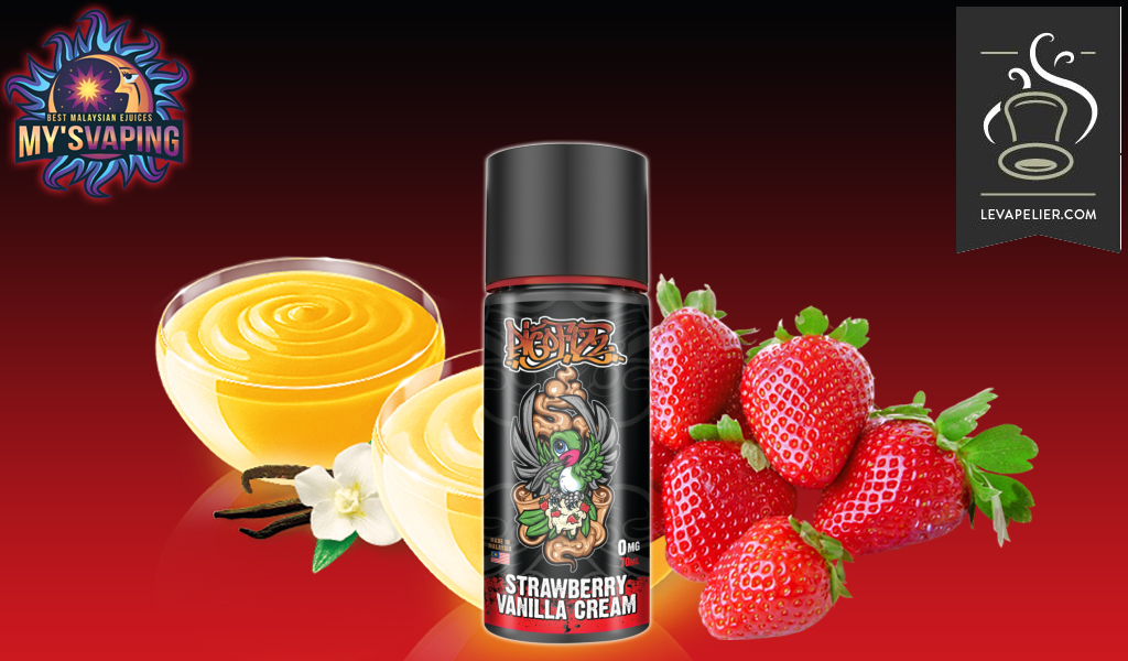 Strawberry Vanilla Cream (Pico Fizz Range) door My's Vaping
