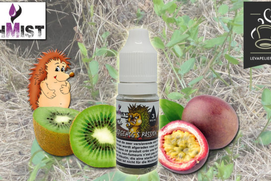 Hedgehog's Passion (Gamme Vaping Animals) par OhMist