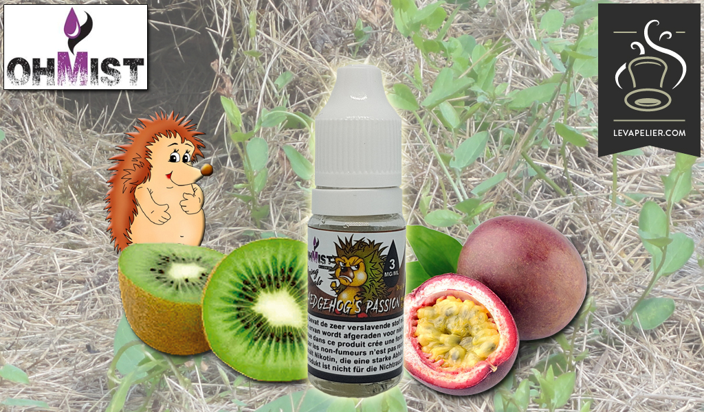 Hedgehog's Passion (Range Vaping Animals) door OhMist