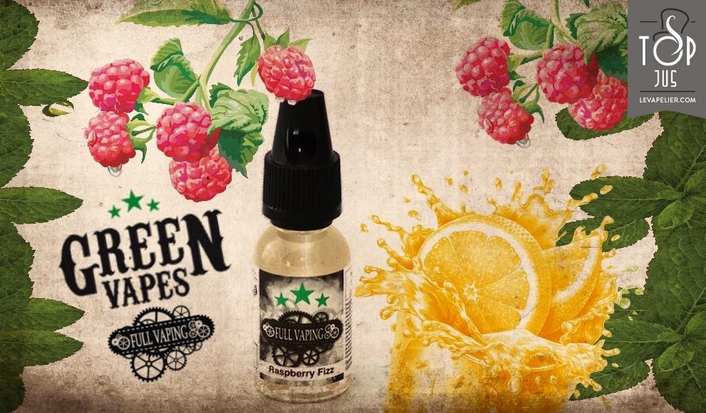 Raspberry Fizz (Gamme Full Vaping) par Green Liquides