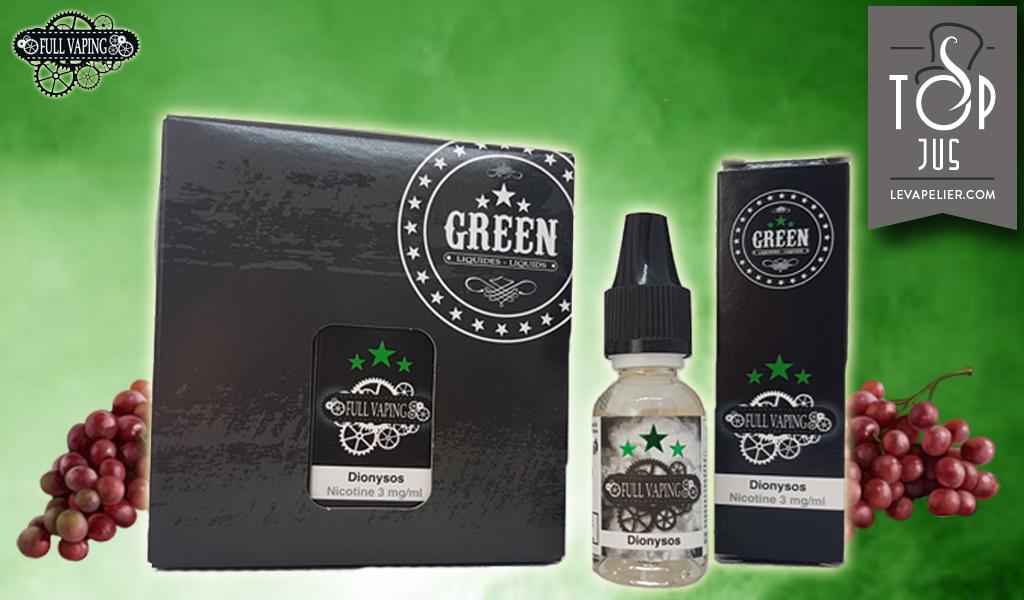 Dionysos (Full Vaping Range) van Green Liquides