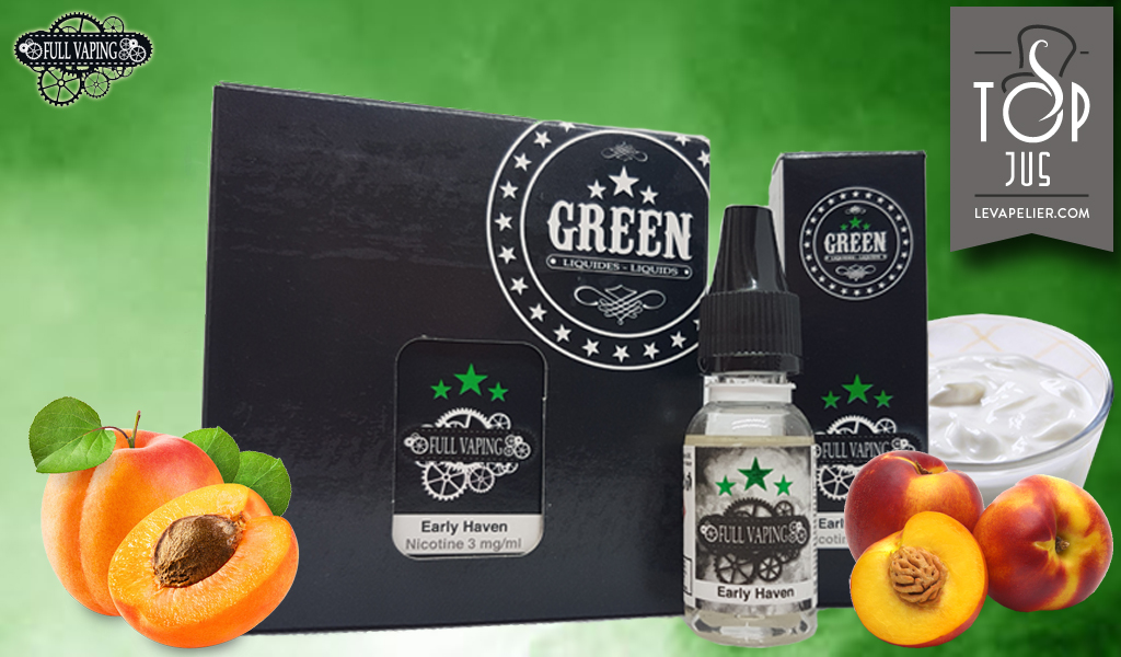 Early Haven (Gamme Full Vaping) par Green Liquides