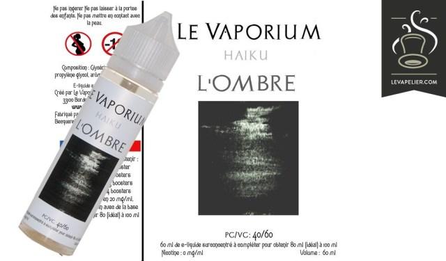 L'Ombre (Gamme Haiku) par Le Vaporium