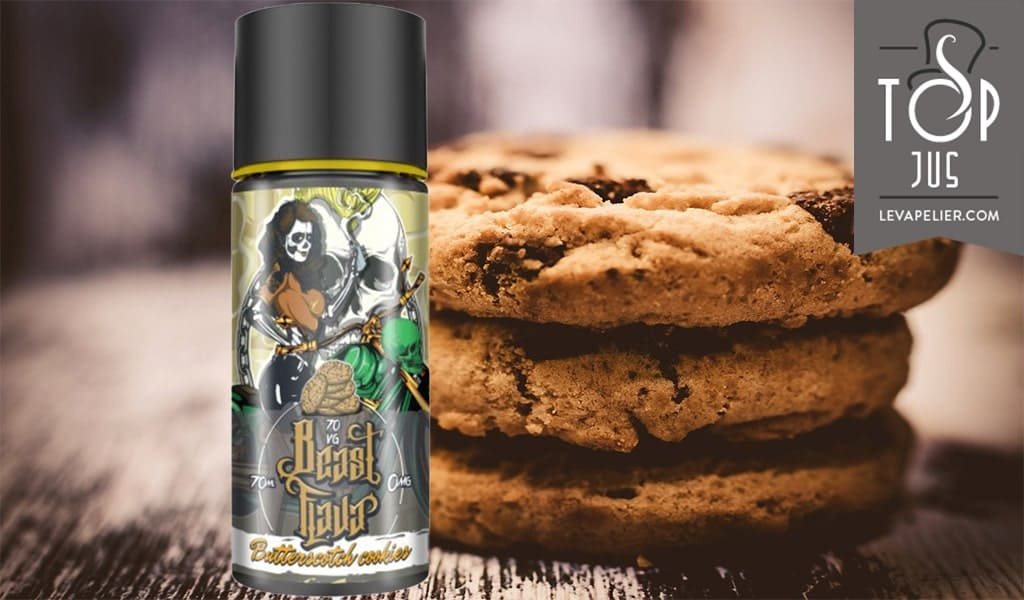 Butterscotch Cookies (Beast Flava Range) van MY'S Vaping