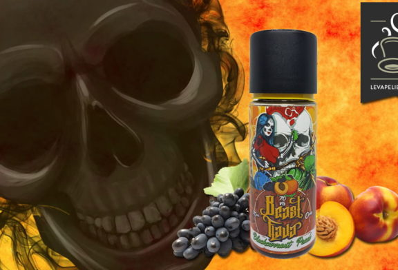 Blackcurrant Peach (Gamme Beast Flava) par My's Vaping France