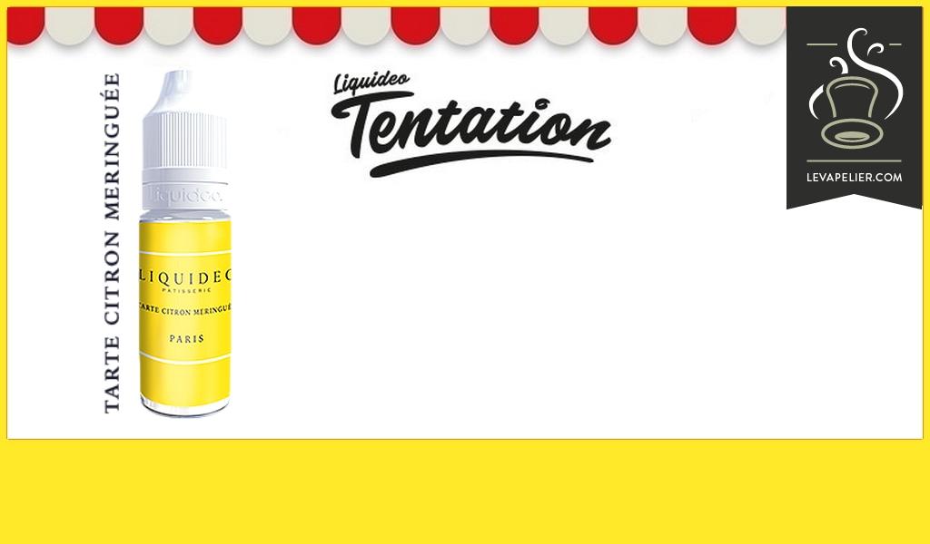 Tarte Citron Meringuée (Gamme Tentation) par Liquideo