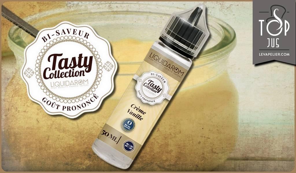 Crème Vanille (Gamme Tasty) par Liquidarom