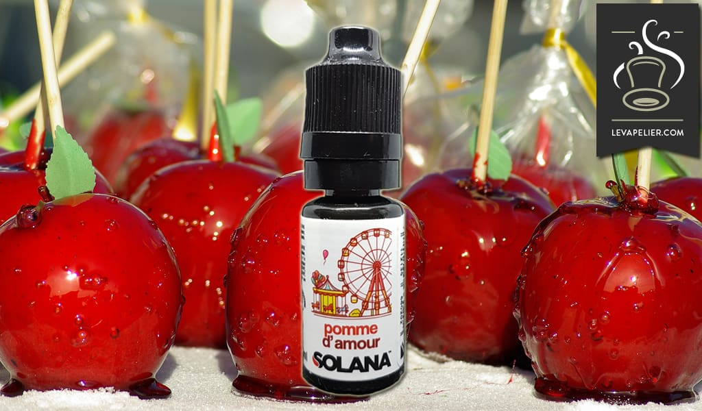 Pomme d'Amour (Gamme Prêt à Vaper) par Solana