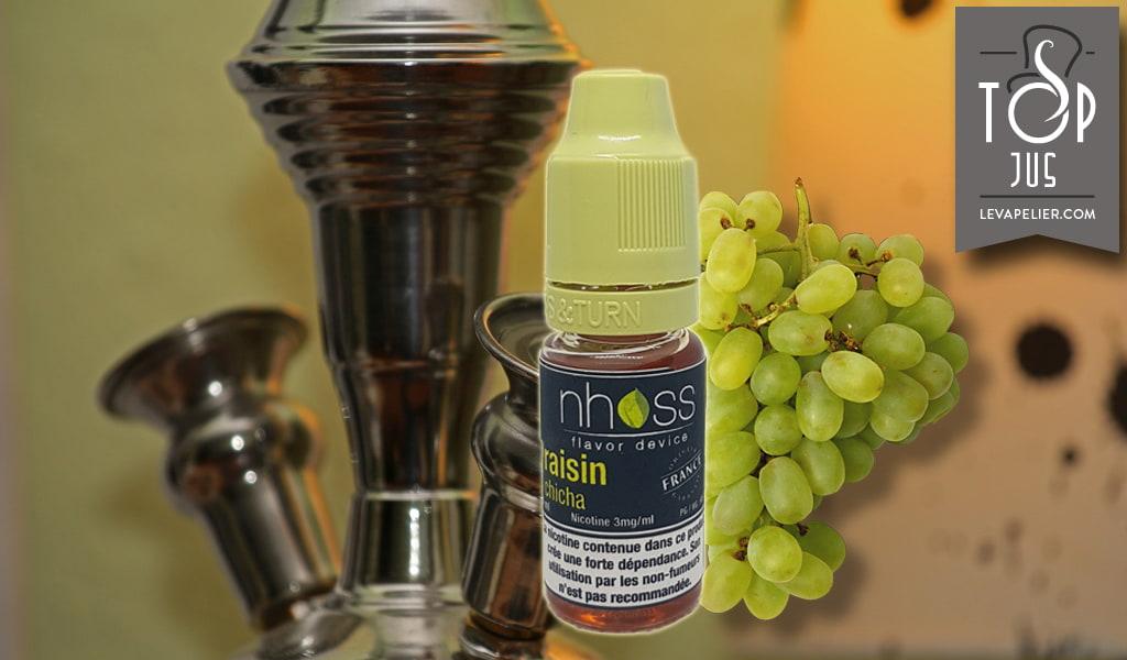 Chicha de uva (e-liquid range Shisha) de Nhoss