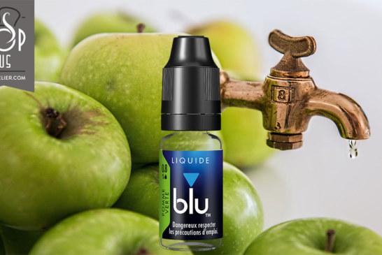 Groene appel van blu