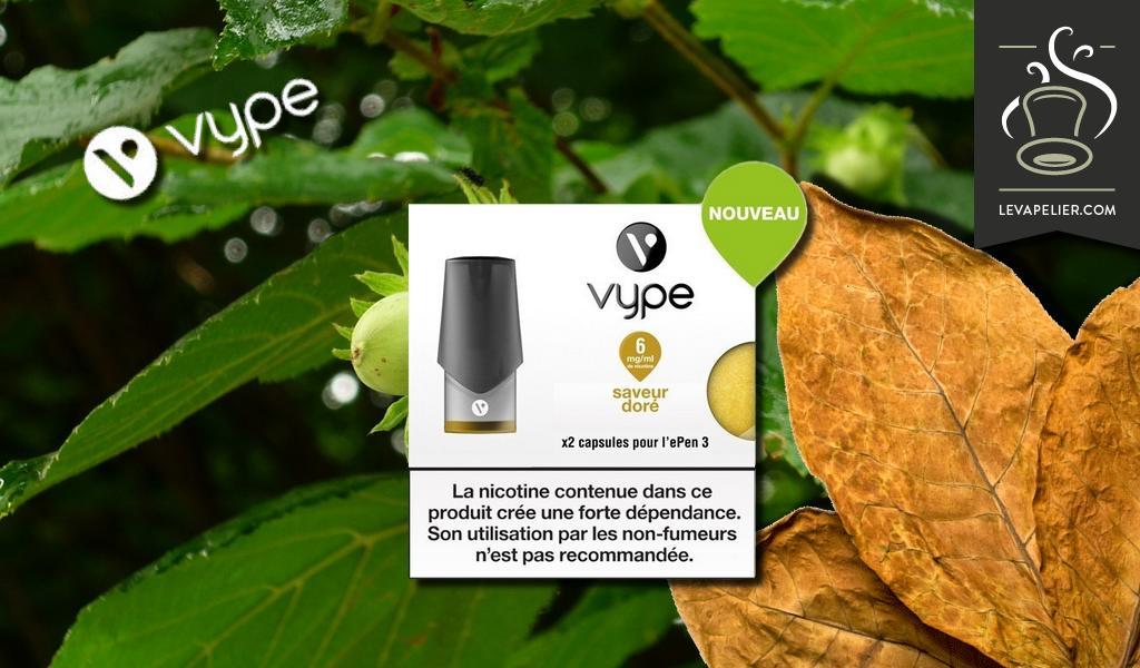 Golden Flavor van Vype