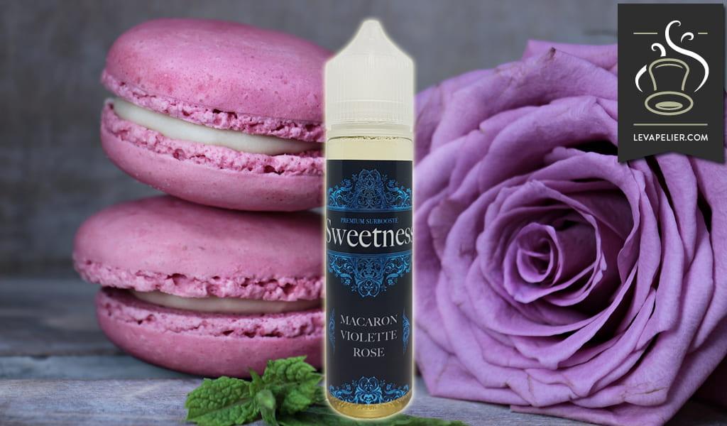 Purple Rose Macaroon (Sweetness Range) van Made In Vape