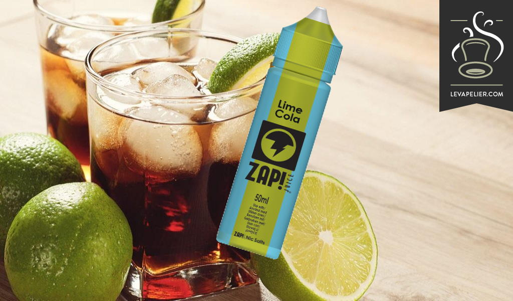 Lime Cola van Zap Juice